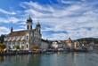 Jesuit church in Luzern, Switzerland