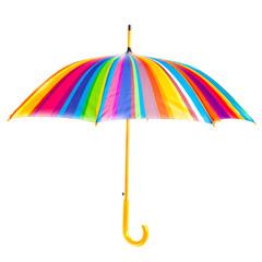 open bright umbrella