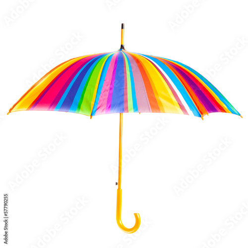 open bright umbrella