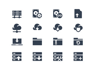 Hosting icons
