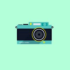 Modern Flat Camera Icon