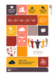 Modern Infographics Interface Vector