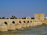 The Roman Bridge in Cordoba, Spain