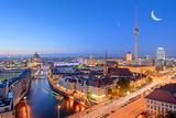Berlin - Mond - Himmel - Sterne