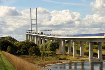 Rügenbrücke, Strelasundquerung, Insel Rügen, Stralsund