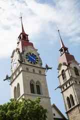 Kirchtürme in Winterthur