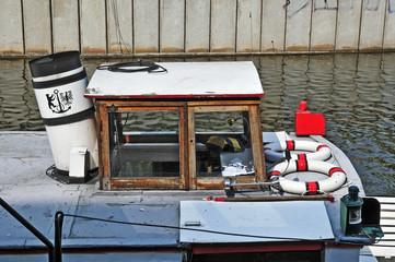 Berlino, imbarcazioni tradizionali sulla Sprea (Spree)