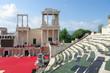 Roman Theater In Plovdiv, Bulgaria