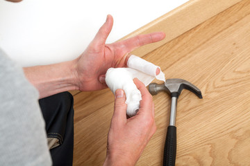 Injury during domestic work