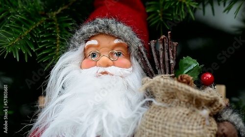 Santa claus with big beard