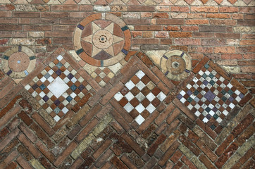 textures: medieval ornament