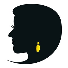 Woman - silhouette
