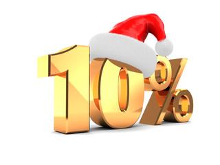 10 percent offer