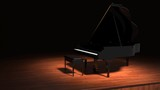 Piano In Spotlight