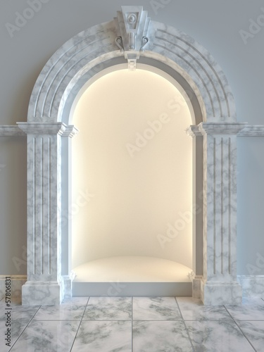 Shop Display Alcove
