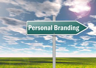 "Signpost ""Personal Branding"""