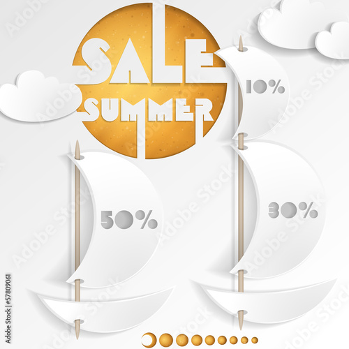 Summer Sale. Business Background.