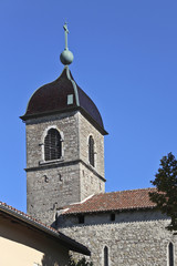 Pérouges, Kirchturm