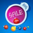 Big sale, discount twenty to seventy percent