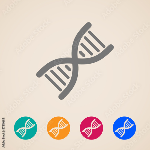vector DNA icons