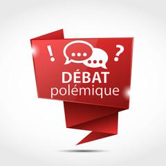 bulle origami : débat polémique