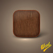 background with wood texture. icon template