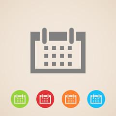 vector calendar icons