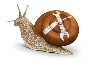 Tools Snail (clipping path included)