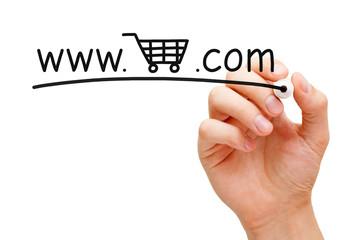 Online Shopping Cart Concept