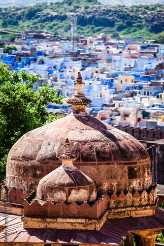 View of Jodhpur,Blue City,from Mehrangarh Fort,Rajasthan,India