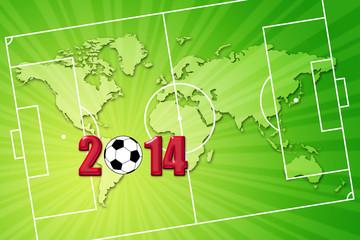 Football Coupe du Monde 2014