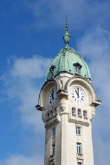 Clock tower of Limoges train station