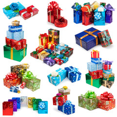 Collection of gifts