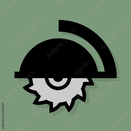 Tools icon or sign, vector illustration
