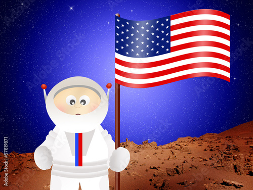 Astronaut to Mars