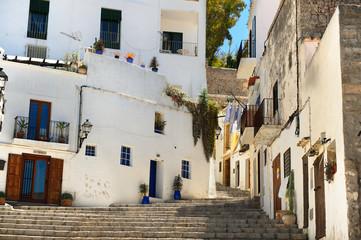 Ibiza , Spain, old city