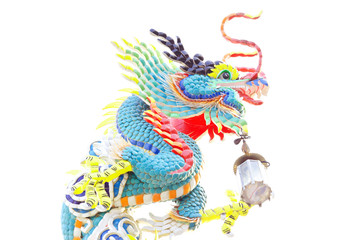 The colorful dragon