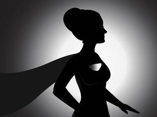 Supergirl Silhouette