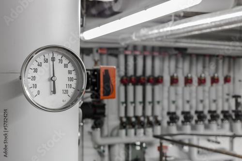 Zdjęcia na płótnie, fototapety, obrazy : Temperaturanzeige © Matthias Buehner
