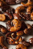 Brown Candied Caramelized Nuts