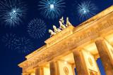 feuerwerksraketen in berlin