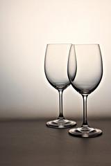 Copas de vino. Cristal. Bodegón
