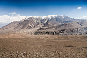 Upper Mustang landscape