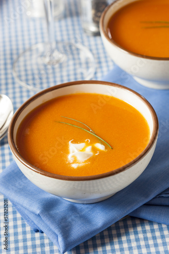 Homemade Orange Carrot Soup