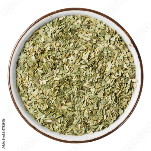 Dried tarragon leaf
