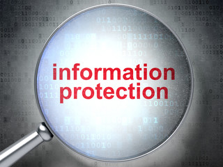 Protection concept: Information Protection with optical glass