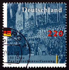 Postage stamp Germany 1998 National Assembly