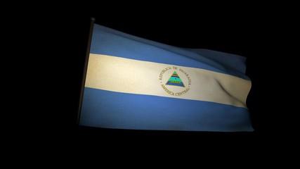 Flag Nicaragua 01
