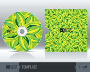 CD Cover Design Template Set 5