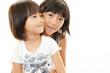 笑顔の姉妹